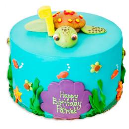 Детский торт Черепашка