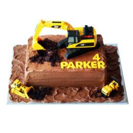 Cake excavator