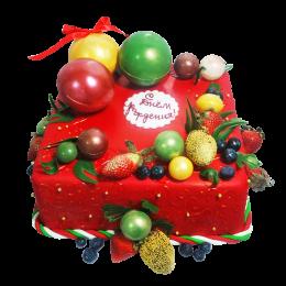 Торт праздничный на день рождение