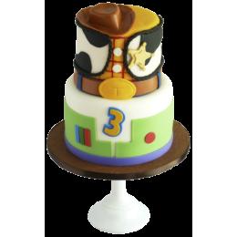 Детский торт на Три года