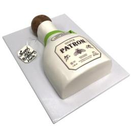 Торт в форме бутылки из под спиртного