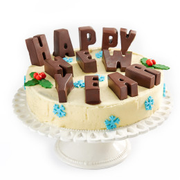 Новогодний торт Happy New Year