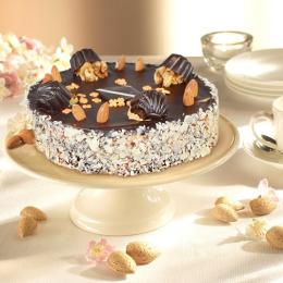 Торт Ореховый по королевски
