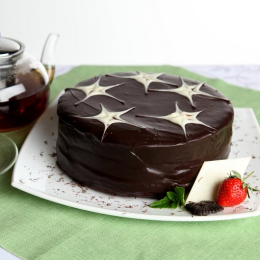Торт Горячий шоколад