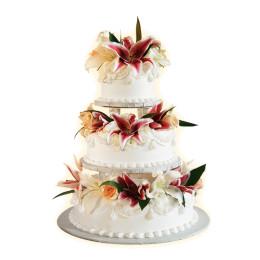 Торт свадебный 05
