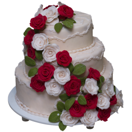 Торт Свадебный  модель 020
