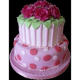 Торт Свадебный  модель 018