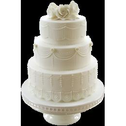 Торт Свадебный  модель 023