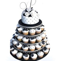 Торт свадебный 09