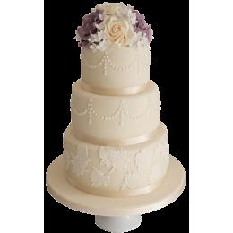 Торт Свадебный  модель 028