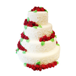 Торт свадебный 02