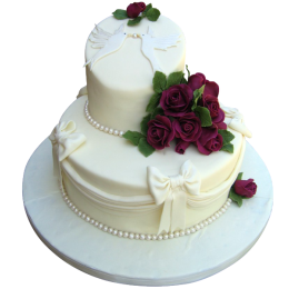 Торт Свадебный  модель 036