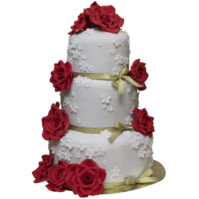 Buy Wedding Cake Model 042 With Delivery In Moscow