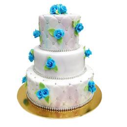 Торт свадебный 15