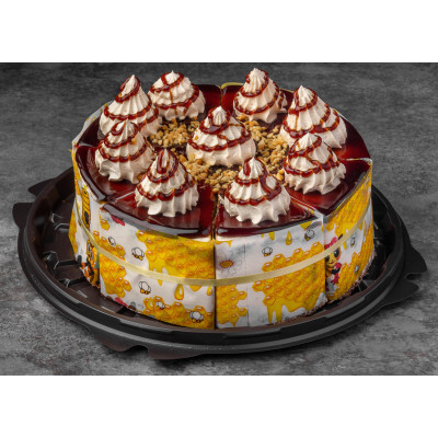 焦糖分份蛋糕