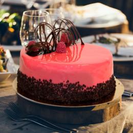 Торт Малиновый мусс