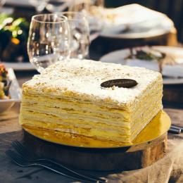 Торт Наполеон Московский пекарь