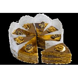Торт Медовая фантазия с грецким орехом