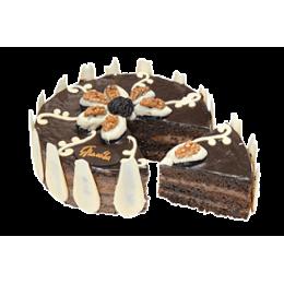 巧克力蛋糕与李子