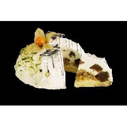 Торт Сметанный с персиками