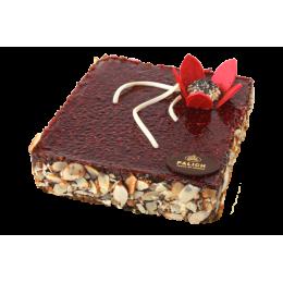 Торт Маковый с малиной