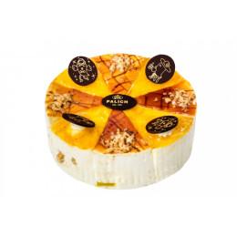 Торт Птичка с халвой и мармеладом из лимона