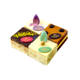 Набор мини тортов С черносливом, Кофейный, Ореховый, Лесная поляна